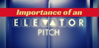 importance of elevator pitch