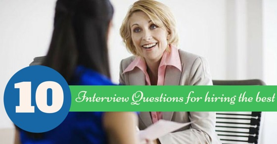 interview questions for hiring