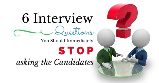 interview questions not ask