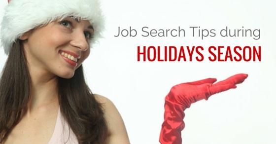 job search holiday season