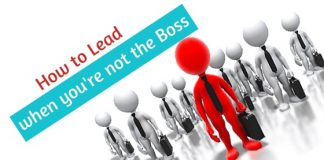 lead when you're not boss