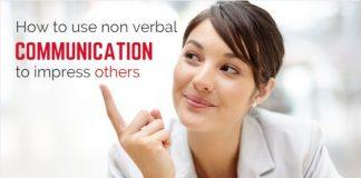 nonverbal communication to impress