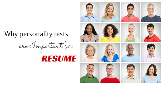 personality test for resume