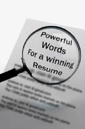 powerful words for resume