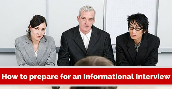 prepare for informational interview