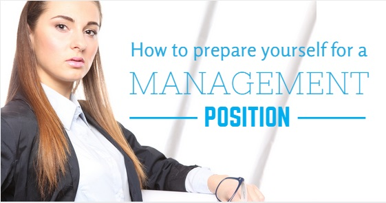 preparing for management position