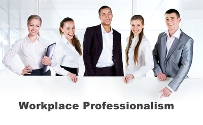 professionalism at workplace