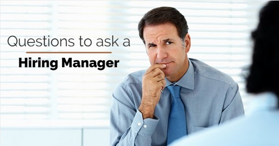 questions ask hiring manager