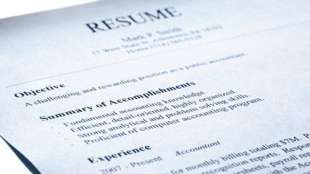 resume job description length