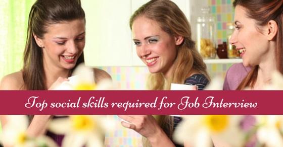 social skills for job interviews