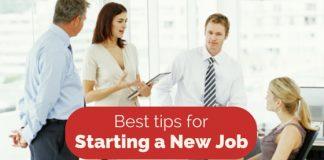 starting new job tips