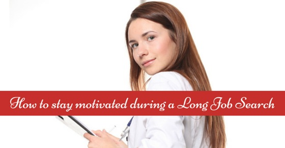 staying motivated during job search