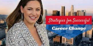 strategies successful career change