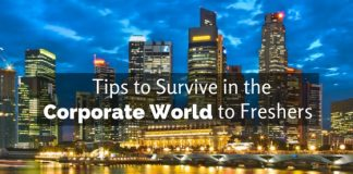 survive in corporate world