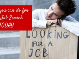 things to do job search