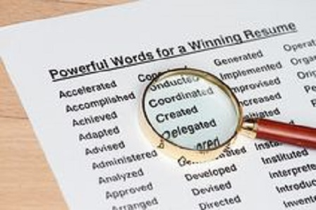 using keywords on resume