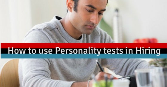 using personality tests in hiring