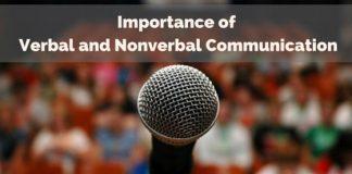 verbal nonverbal communication importance