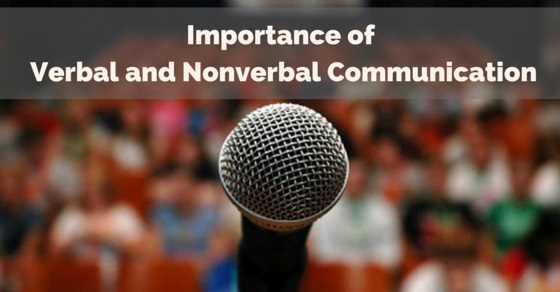 verbal nonverbal communication importance