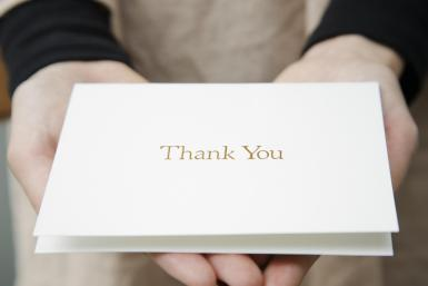 ways to write thank you