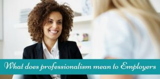 what does professionalism mean