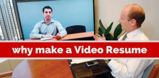 why make video resume
