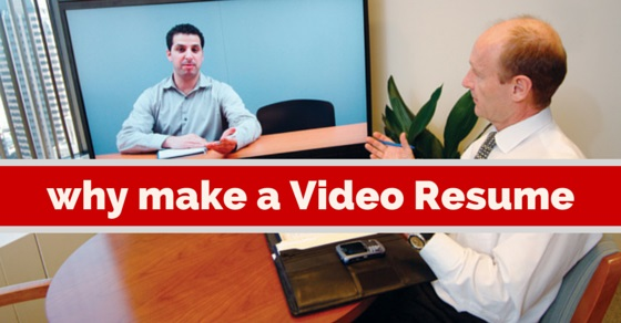Why Make Video Resume  Video Resume Tips