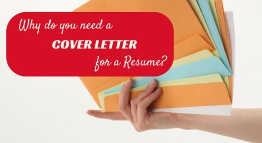 why need cover letter