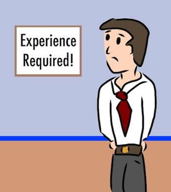 work experience requirements jobs