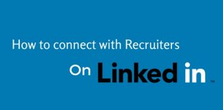 Connect with Recruiters on Linkedin