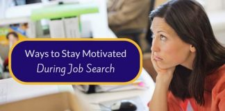 Stay Motivated during Job Search