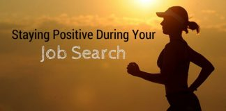 Staying positive During Job Search