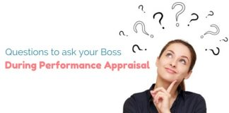 ask boss during performance appraisal