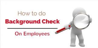 background checks on employees