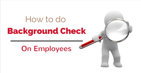 background checks on employees