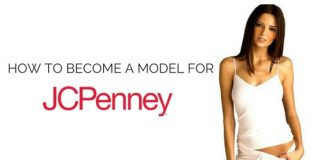 become model for jcpenney
