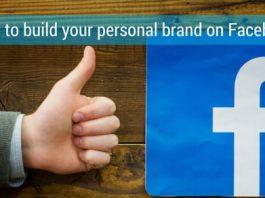 build personal brand facebook
