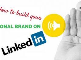 build personal brand linkedin