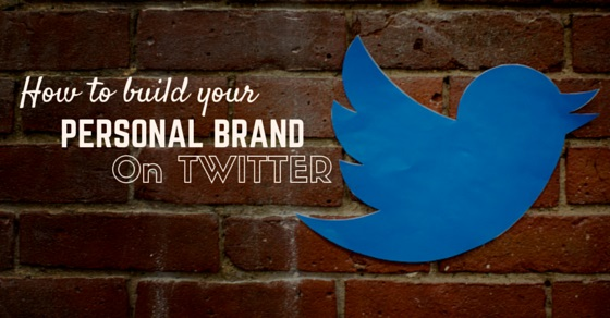build personal brand twitter