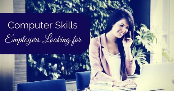 computer skills employers look