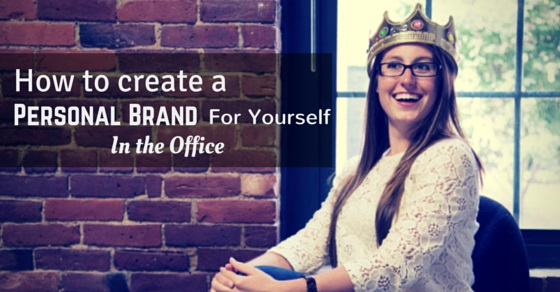 create personal brand in office