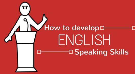 develop english speaking skills