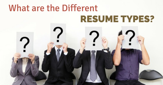 what are the different resume types which one is the best wisestep