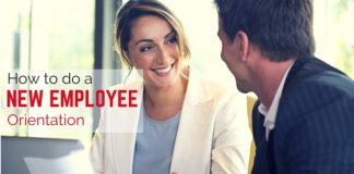 do new employee orientation