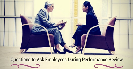 employer performance review questions