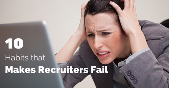 habits of successful recruiters