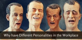have different personalities workplace