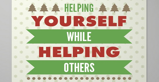 helping yourself while helping others