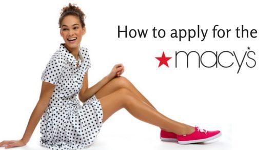 how apply for macys