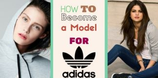 how become adidas model